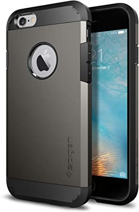 Spigen [Tough Armor Coque iPhone 6s, Protection Anti Choc, Robuste [Gunmetal] Double Protection Etui Coque pour Apple iPhone 6 / 6s (SGP11612)