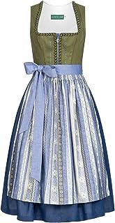 Country-Line Damen Trachten-Mode Midi Dirndl Gerlinde in Grün traditionell