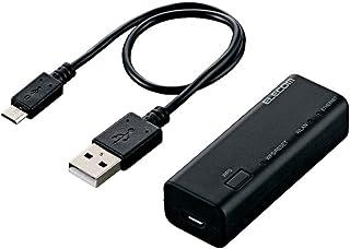 エレコム WiFiルーター 無線LAN ポータブル 300Mbps USBケーブル付属 WRH-300BK3-S