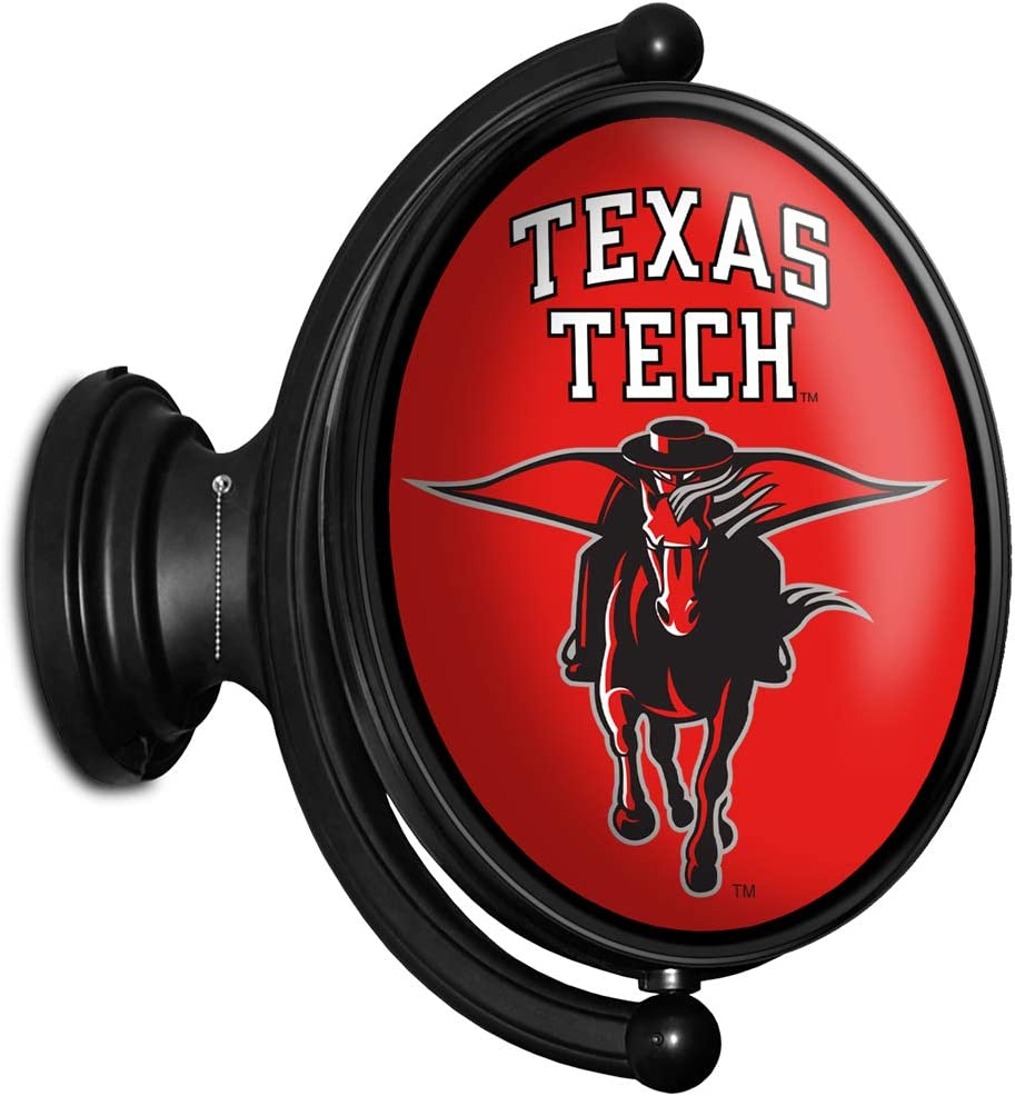 Shop Grimm Texas Tech Fixed price for sale University Max 76% OFF S Wall Illuminated LED Rotating