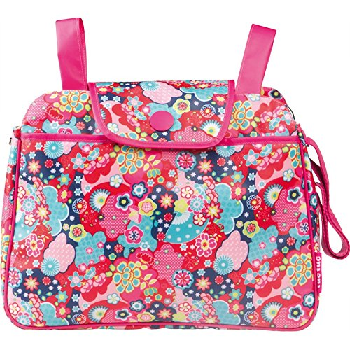 Tuc Tuc 09551 - Bolso panera + cambiador, diseño niña kimono