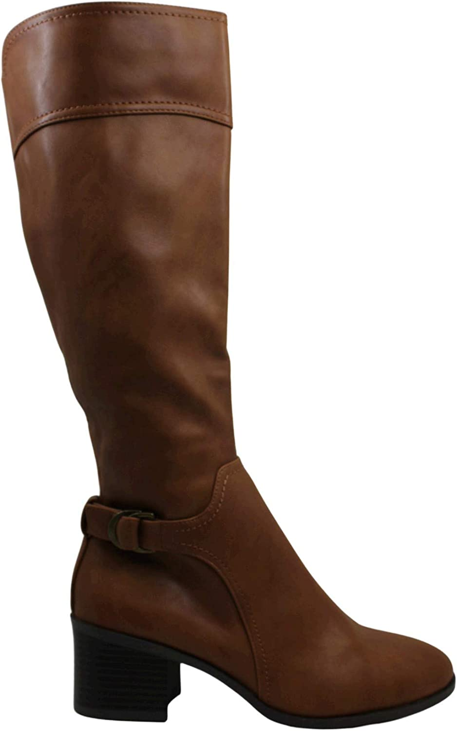 Style & Co. Womens Vannie Closed Toe Mid-Calf Riding Boots