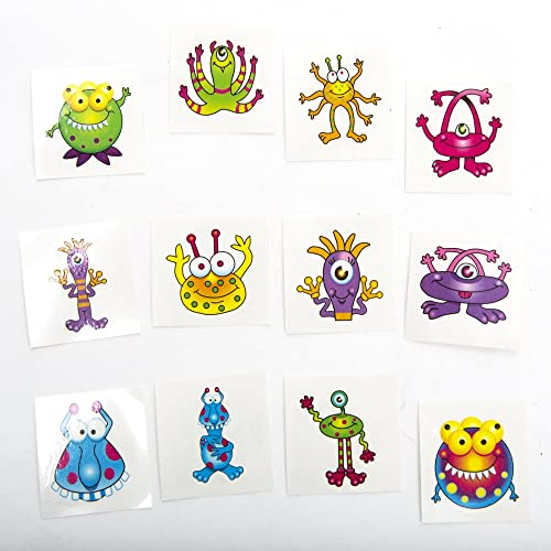 14177bac9 Monster Tattoos,72 tattoos per package