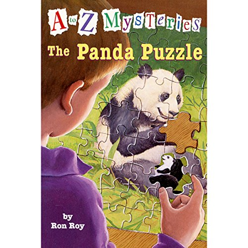 A to Z Mysteries: The Panda Puzzle audiobook cover art