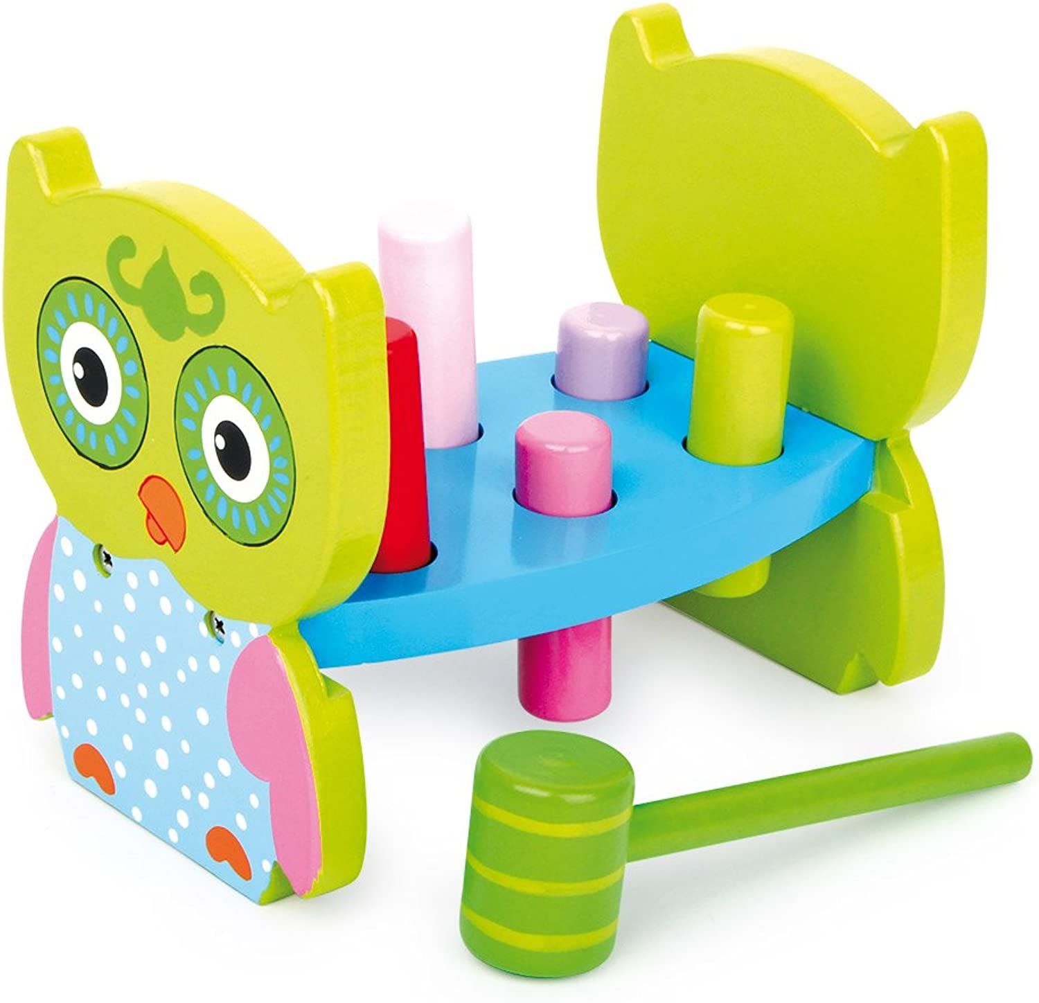 Legler Hammer Bench Owl Preschool Learning Toy