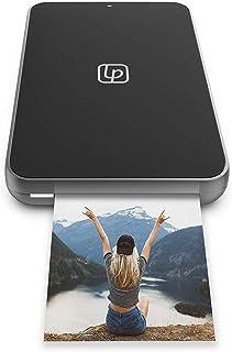 Lifeprint Ultra Slim Printer   Portable Bluetooth Photo, Video & GIF Instant Printer with Video Embed Technology, Editing ...