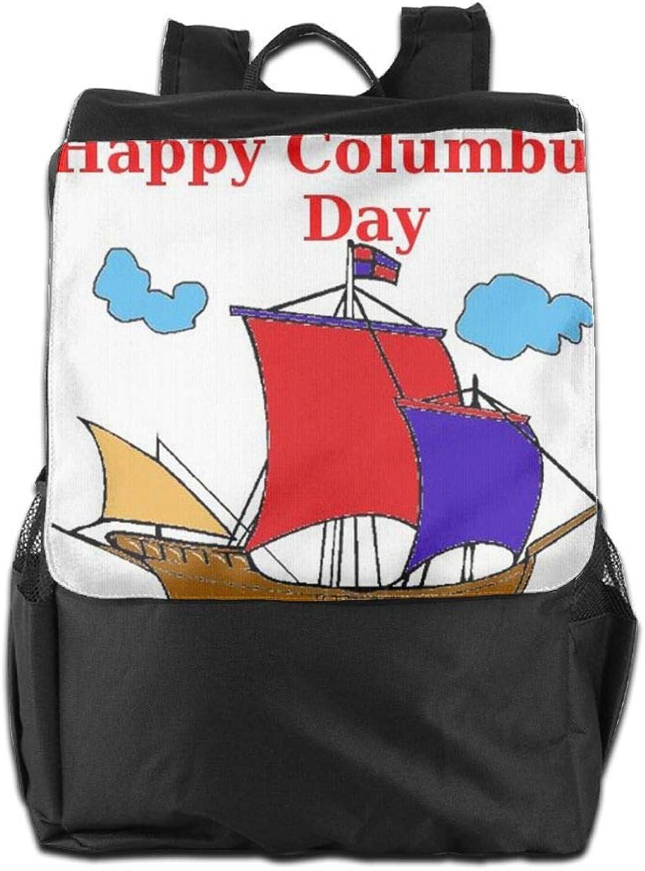 für Schultergurt, Verstellbarer Columbus Day Happy Schule