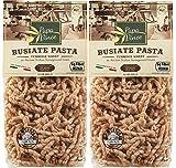 Papa Vince 2 paquetes de Busiate Trapanesi de Trigo Tumminia Siciliano, 100% Natural y Artesanal, 500 gr + 500 gr