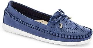 Ceriz Women's Selene Navy Casual Loafers