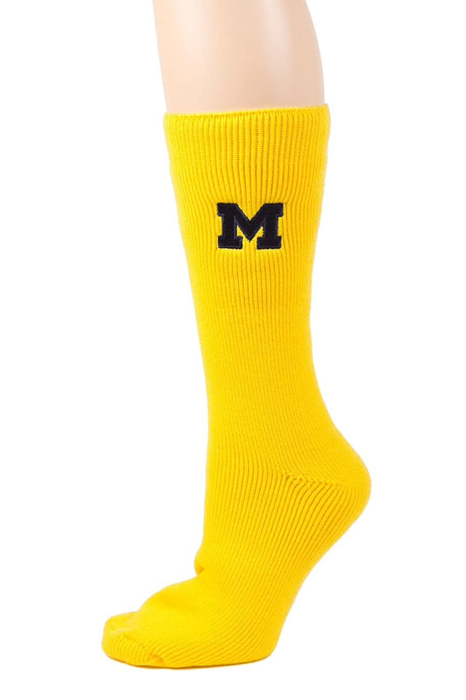 Donegal Bay NCAA Unisex Michigan Thermal Sock