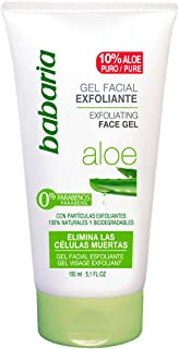 Babaria Aloe Vera - Gel exfoliante facial 150 ml