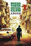 Kirbis Buena Vista Social Club Adios Movie Poster 18 x...