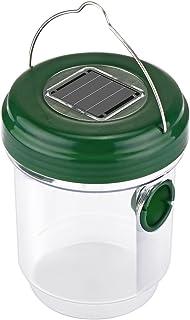 Houkiper Detector de Insectos con Trampa de Avispas con energía Solar para Abejas Chaquetas Amar...