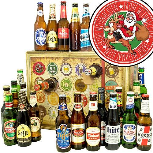 Frohe Weihnachten Santa - 2019 Bier Adventskalender - Biere der WELT