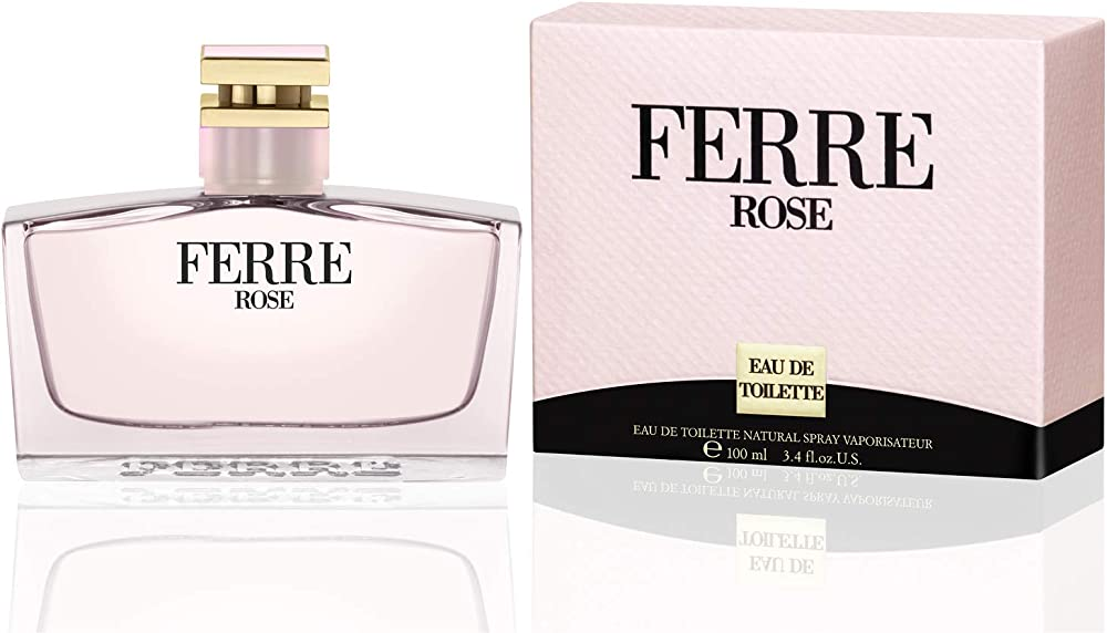 Gianfranco ferré, ferré rose eau, de toilette,profumo per donna, spray, 100 ml 160907