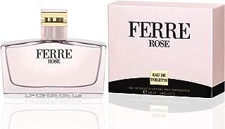 Ferre Rose by Gianfranco Ferre For Women. Eau De Toilette Spray 3.4-Ounces