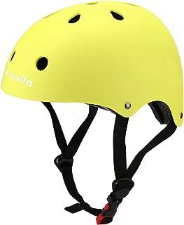 Kuulla Toddler Helmet CPSC Certified - Kids Bike Helmet Adjustable - Toddler to Youth Age 3-8 - 11 Vents Safety & Ventilation Design - Kids Cycling Skating Scooter