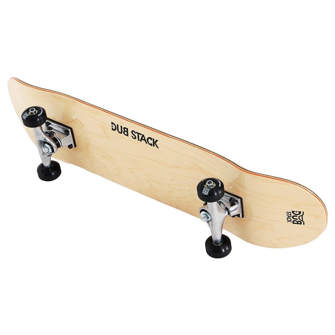 火星災害なぜDUB STACK(ダブスタック) スケートボード DSB-10 31インチ 【高品質カナディアンメープルデッキ】 コンプリートセット 【ABEC5ベアリング採用】