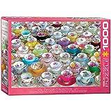 EuroGraphics- Tea Cups 1000-Piece Puzzle Rompecabezas de 1000 Piezas. (6000-5314)