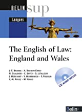 Livres The English of Law: England and Wales (1CD audio) PDF