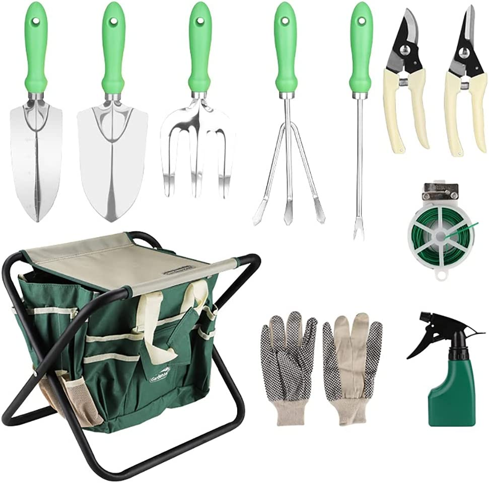 Garden Tools All-in-one Sale SALE% Limited time for free shipping OFF Set Cast-Alumin Duty Heavy