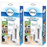 Febreze Replacement Dual Action Filter, 2-Pack