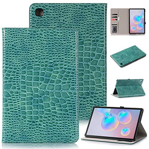 RZL Pad y Tab Fundas para Samsung Galaxy Tab S6 Lite 2020, Flip Tablet Funda con Ranura para Tarjeta Soporte de Cuero a Prueba de Golpes para Samsung Galaxy Tab S6 Lite 10.4 2020 (Color : Blue)