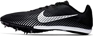 Men's Zoom Rival M 9 Track and Field Shoes (14, Black/White)