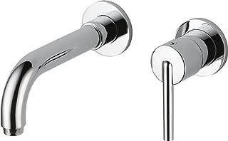 Delta Faucet 3559LF-WL Trinsic, Wall Mount Bathroom Faucet, Chrome