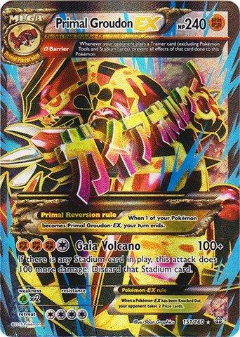 Pokemon - Primal Groudon-EX (151/160) - XY Primal Clash - Holo