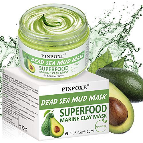 Blackhead Mask, Blackhead Remover Mask, Avocado Clay Mask, Deep Cleaning Face Mask, for Face Cleansing Mask Detox Treatment Reduce Pores Purifying Face Mask for Acne Blackheads Oily Skin