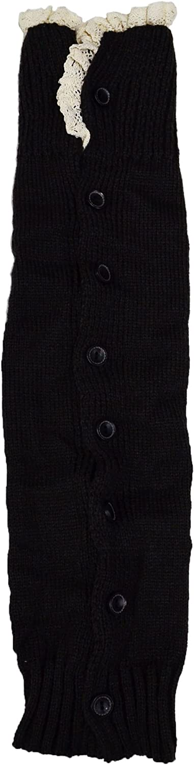 Long Knit Leg Warmers in Three Colors