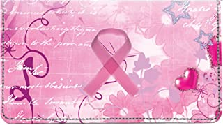 Breast Cancer Personal Leather Cover