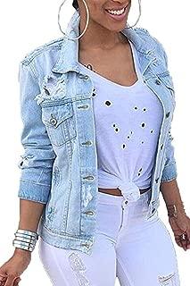 Best women's plus size long denim jacket Reviews