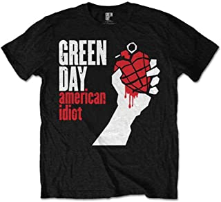 Camiseta Green Day American Idiot (Negro)