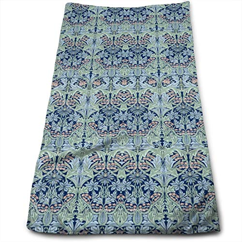 Hand Towels William Morris Bluebell Columbine Highly Absorbent ...