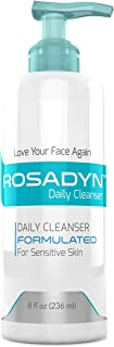 Cleanser for Sensitive Skin and Rosacea Care by Rosadyn - Gentle Non-Drying Organic Facial Wash - Soothing and Won't Irrit...