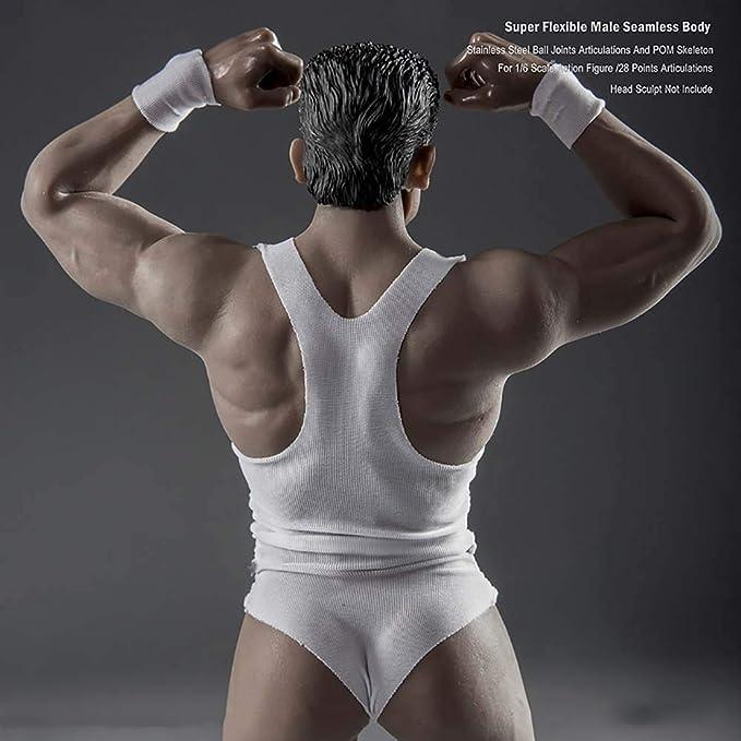 1/6 Cuerpo De Hombre Musculoso Recubierto De Goma Cuerpo De ...