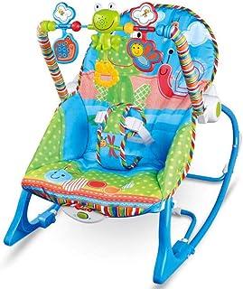 7f4dd9065 MSSugar Silla Mecedora para bebés Vibración de música multifunción  Apaciguar Cama para la Cama Juguete para