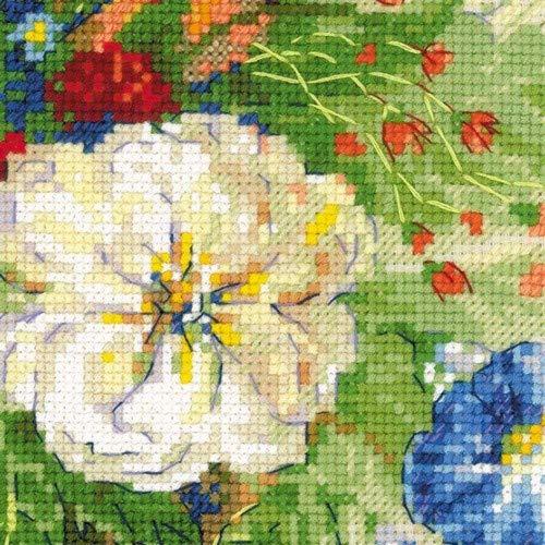 RIOLIS Flemish Summer Multicolore Kit Completo per Punto Croce