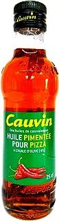 Cauvin Pizza Öl Pizzaöl Chiliöl Huile Pimentee pour Pizza 250 ml
