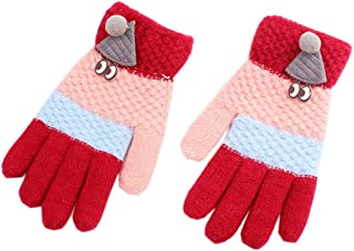 ACVIP Little Boy's Goggles Decorated Christmas Fancy Cold Weather Gloves