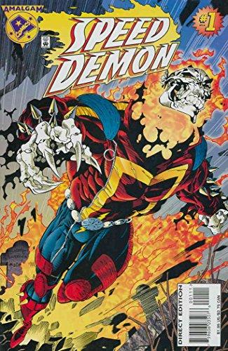 Speed Demon #1 VF ; Amalgam comic book