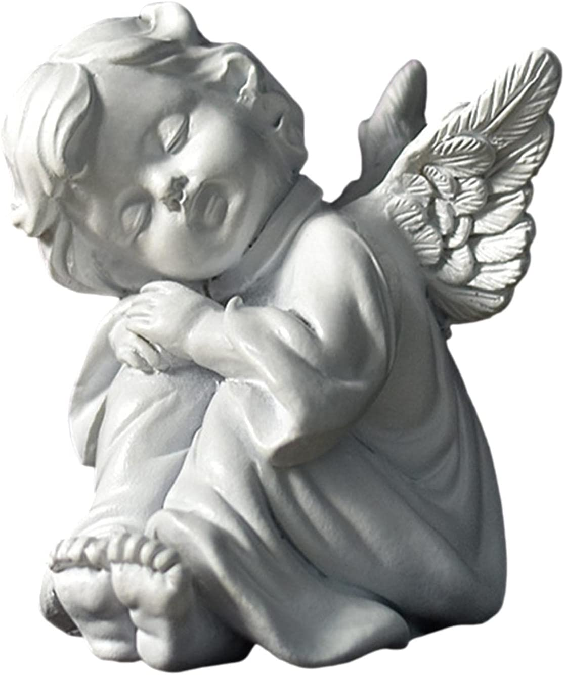 Napping Angel Resin Figurines, Cute Cartoon Angel Decoration, Table Napping Angel Decoration, Creative Desktop Resin Room Decor, Angel Statue Resin Decor Table Accessories
