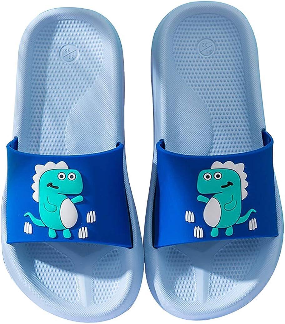 ChayChax Boys Girls Max 69% OFF Popular brand Slide Sandals Cute Slippers Beach Dinosaur K