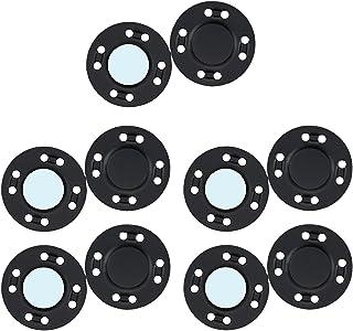 DYNWAVE 10 pares de colchetes de botão magnético de encaixe tricô acolchoado costura calça calça fechamento para bolsa bol...