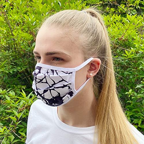 Communitymaske, Mundschutz aus Baumwolle, Stone