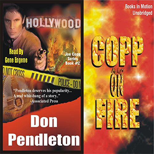 Copp on Fire audiobook cover art