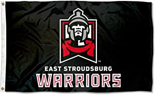 College Flags and Banners Co. East Stroudsburg Warriors Black Flag
