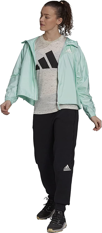 adidas Portland Mall Women's 2021 autumn and winter new Basic Jacket Wind 3-Stripes